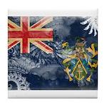 Pitcairn Islands Flag Tile Coaster