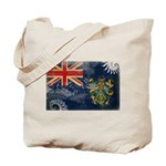 Pitcairn Islands Flag Tote Bag