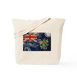 Pitcairn Islands Flag Tote Bag
