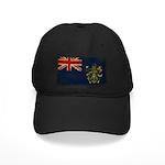 Pitcairn Islands Flag Black Cap