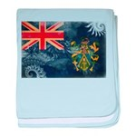 Pitcairn Islands Flag baby blanket