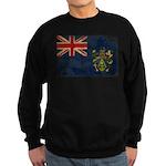Pitcairn Islands Flag Sweatshirt (dark)