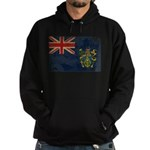Pitcairn Islands Flag Hoodie (dark)