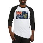 Pitcairn Islands Flag Baseball Jersey