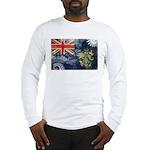 Pitcairn Islands Flag Long Sleeve T-Shirt