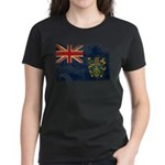 Pitcairn Islands Flag Women's Dark T-Shirt