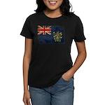 Pitcairn Islands Flag Women's Dark T-Shirt