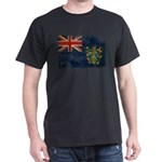 Pitcairn Islands Flag Dark T-Shirt