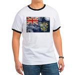 Pitcairn Islands Flag Ringer T