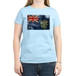 Pitcairn Islands Flag Women's Light T-Shirt