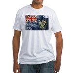 Pitcairn Islands Flag Fitted T-Shirt