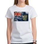 Pitcairn Islands Flag Women's T-Shirt