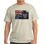 Pitcairn Islands Flag Light T-Shirt