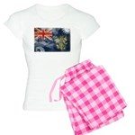 Pitcairn Islands Flag Women's Light Pajamas