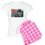 Pitcairn Islands Flag Women's Light Pajamas