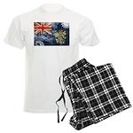 Pitcairn Islands Flag Men's Light Pajamas