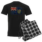 Pitcairn Islands Flag Men's Dark Pajamas