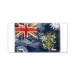Pitcairn Islands Flag Aluminum License Plate