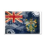 Pitcairn Islands Flag Car Magnet 20 x 12