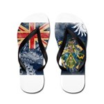 Pitcairn Islands Flag Flip Flops