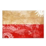 Poland Flag Postcards (Package of 8)