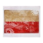 Poland Flag Throw Blanket
