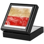 Poland Flag Keepsake Box