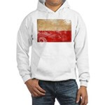 Poland Flag Hooded Sweatshirt