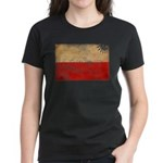 Poland Flag Women's Dark T-Shirt