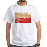 Poland Flag White T-Shirt