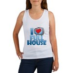 I Heart Full House Women's Tank Top