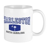Charleston South Carolina, SC, Palmetto Flag Coffee Mug