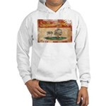 Prince Edward Islands Flag Hooded Sweatshirt