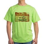 Prince Edward Islands Flag Green T-Shirt