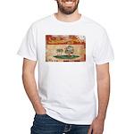 Prince Edward Islands Flag White T-Shirt