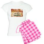 Prince Edward Islands Flag Women's Light Pajamas