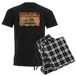 Prince Edward Islands Flag Men's Dark Pajamas