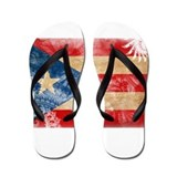 Puerto Rico Flag Flip Flops