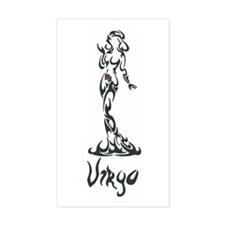 Virgo Rectangle Decal