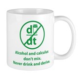 Never drink and derive Coffee Mug