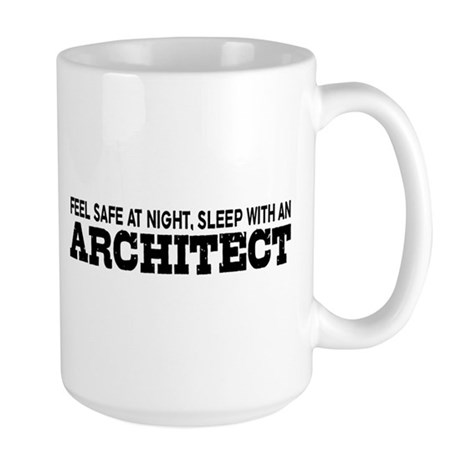 Funny Architect Large Mug