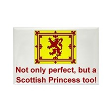 Perfect Scottish Princess Rectangle Magnet