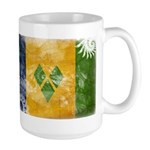Saint Vincent Flag Large Mug