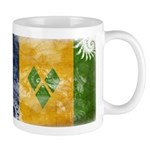 Saint Vincent Flag Mug