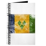 Saint Vincent Flag Journal