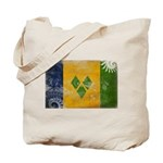 Saint Vincent Flag Tote Bag