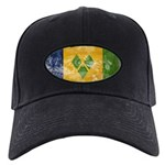 Saint Vincent Flag Black Cap