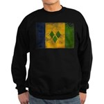 Saint Vincent Flag Sweatshirt (dark)