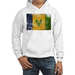Saint Vincent Flag Hooded Sweatshirt