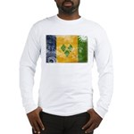 Saint Vincent Flag Long Sleeve T-Shirt